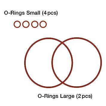 Amazon.com: O-Rings (Small 4pcs, Large 2 pcs) for BabySmile Nasal ...