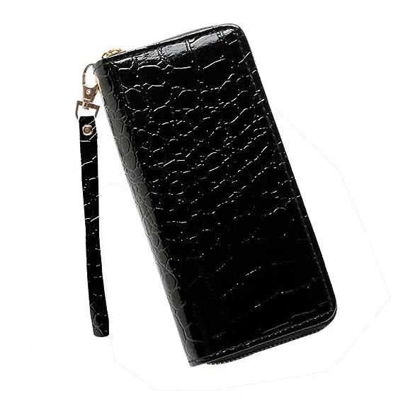 Bolso, Manadlian Moda Bolso Cartera de mujer Stone Road Bolsa de monedas Bolsa de teléfono (19cm(L)*3cm(W)*9.5cm(H), Rojo): Amazon.es: Hogar