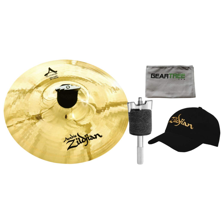 Zildjian A20542B10 10'' A Custom Splash Cymbal w/ 4'' Cymbal Stacker