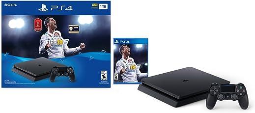 Consola PlayStation 4 Slim, 1TB, con Juego FIFA 18 - Standard Edition