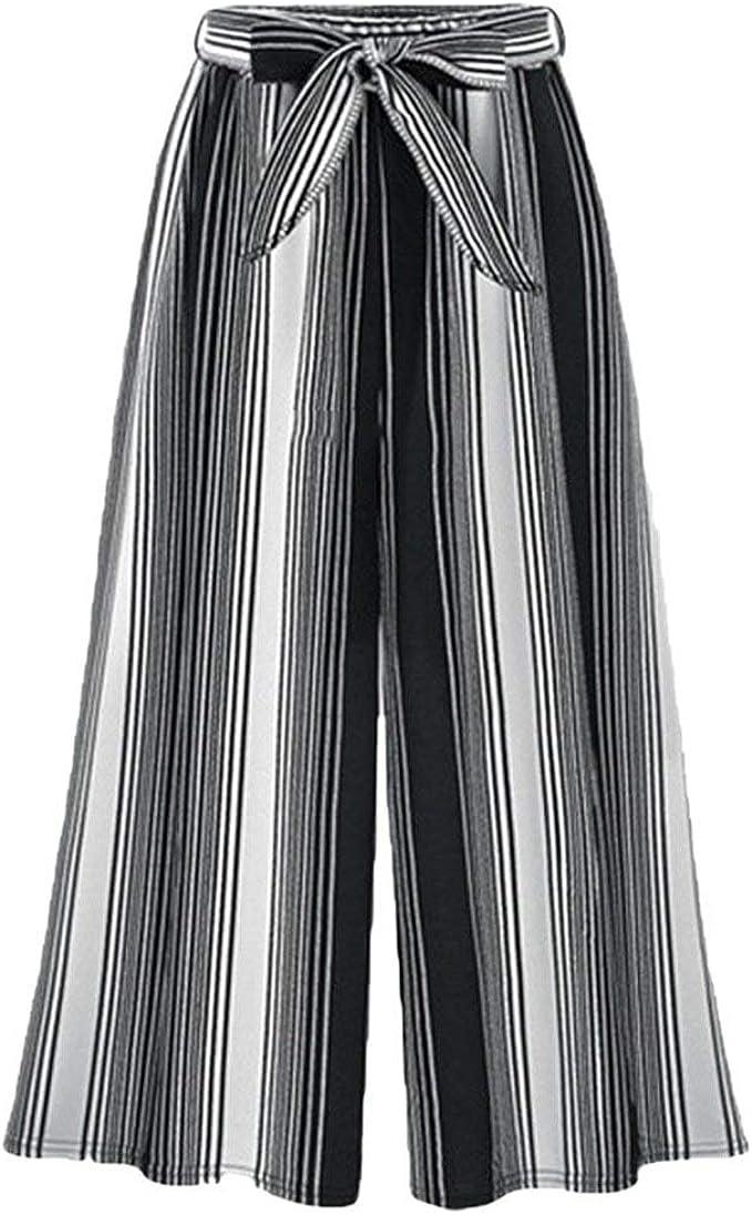 Battercake Mujer Pantalones Baggy Vintage Moda Flecos ...