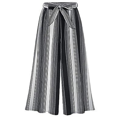 Mujer Pantalones Baggy Vintage Moda Flecos Pantalones Falda ...