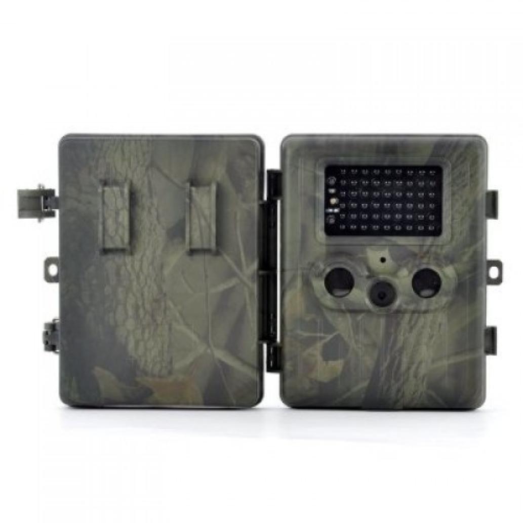 Dreamyth HT-002LI 5MP Dual PIR HD Digital Infrared Trail Hunting Camera 2.5-inch LCD Durable (Army green)