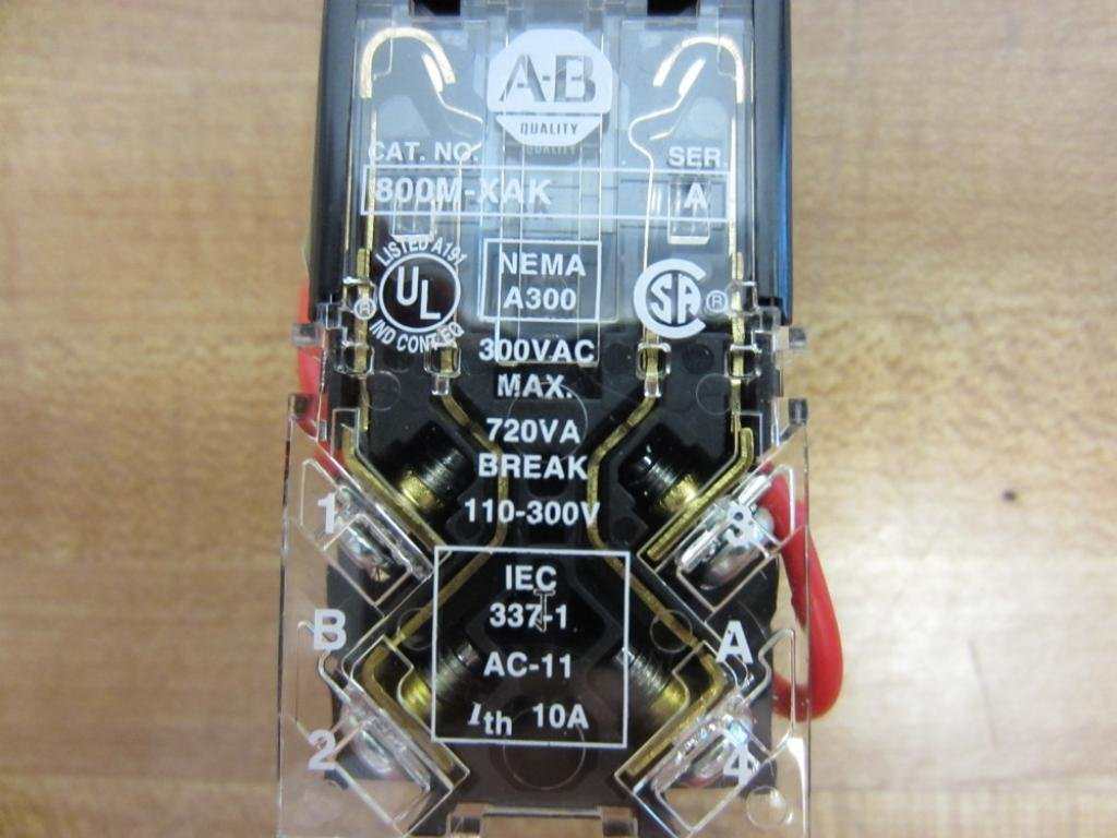 ALLEN BRADLEY 800MR-PT16K SERIES D LIGHT 800MR-PT16K Series D- by Allen-Bradley (Image #6)