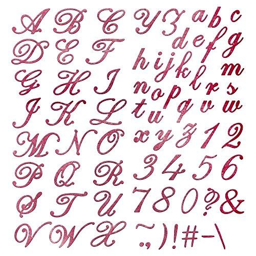 Cheery Lynn Designs FS171 Delicate Lace Script Die Cut