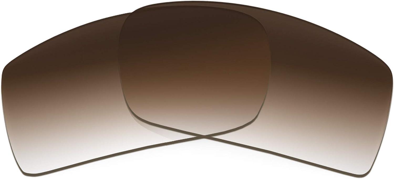 Revant Verres de Rechange pour Tifosi Crit Vented - Compatibles avec les Lunettes de Soleil Tifosi Crit Vented Dégradé Marron - Non Polarisés