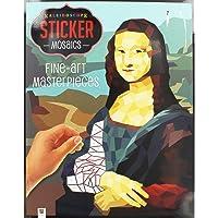 Sticker Mosaics: Fine-Art Masterpieces
