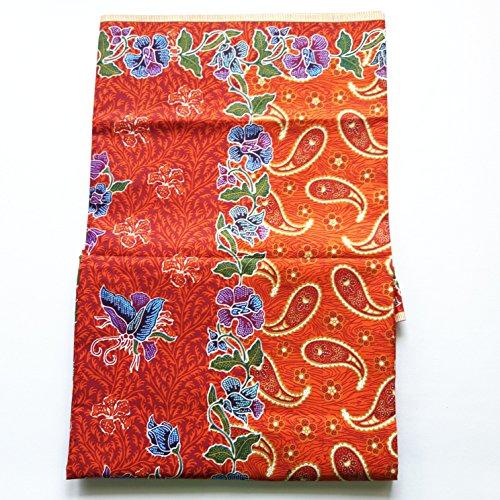 Thai Sarong Traditional Fabric Floral Asian Batik Women