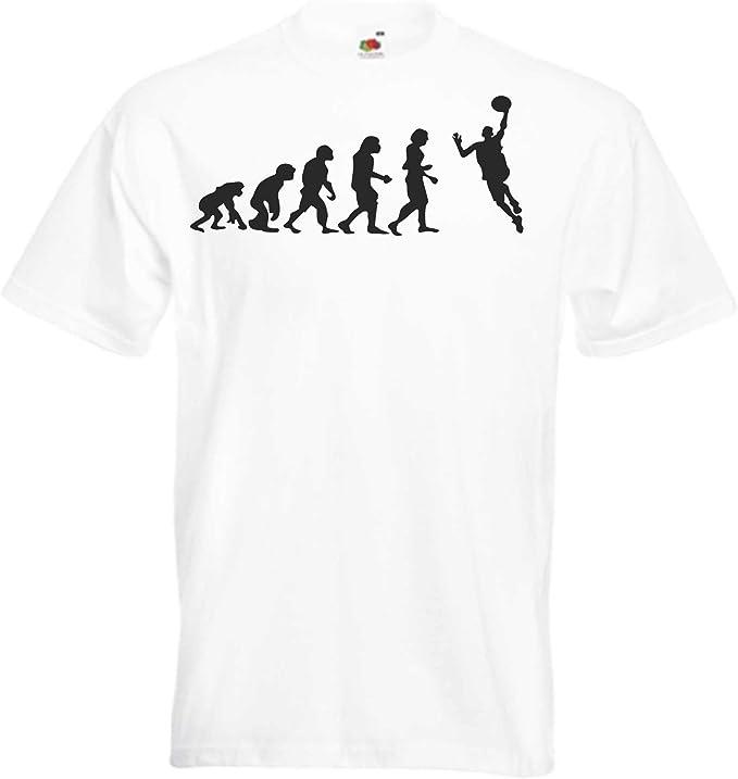 JINTORA Camiseta T-Shirt - Evolución del Balonmano - JDM/Die Cut ...
