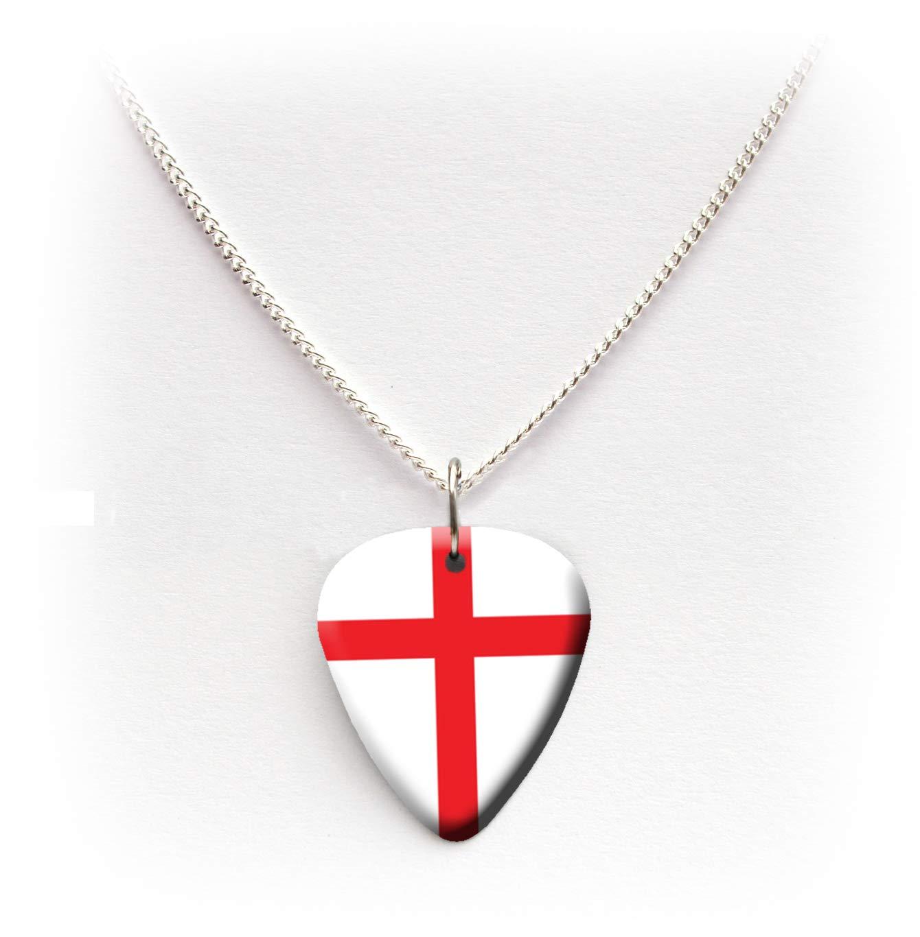 Inglaterra bandera inglés guitarra púa púa plectrum 24