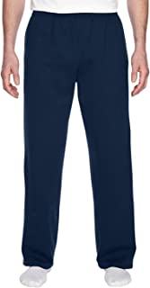 SF74 Fruit of the Loom Men's Open-Bottom Sweatpants with Pockets M29765