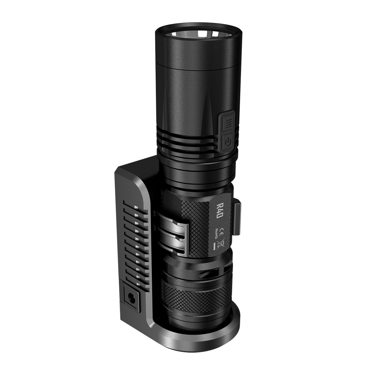 Manbuy NITECORE 1000 lumens XP-L HI LED Rechargeable White light With Battery Gear Outdoor Camping Search R40 Flash Light Hand lamp by Nitecore (Image #6)