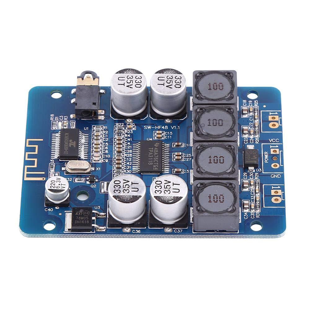 TPA3118 30W + 30W 8V ~ 26V DC Amplificador digital Receptor de audio de canal doble Bluetooth