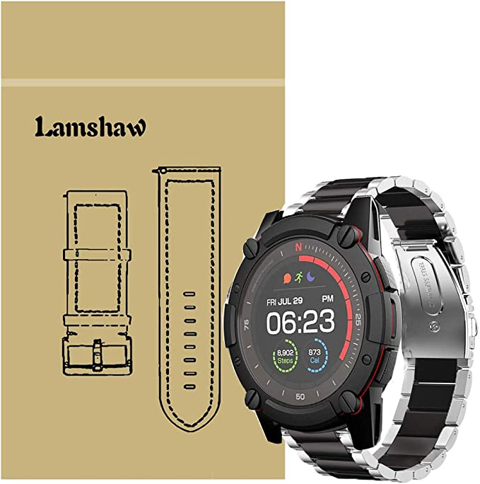 Amazon.com: for PowerWatch 2 Band, Blueshaw Stainless Steel ...