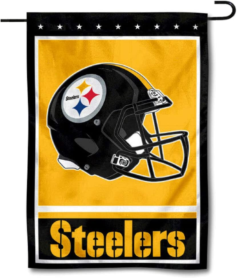 WinCraft Pittsburgh Steelers Decorative Yard Garden Flag