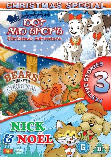 The Bears Who Saved Christmas.Amazon Com Christmas Special Dot And Spot The Bears That Saved