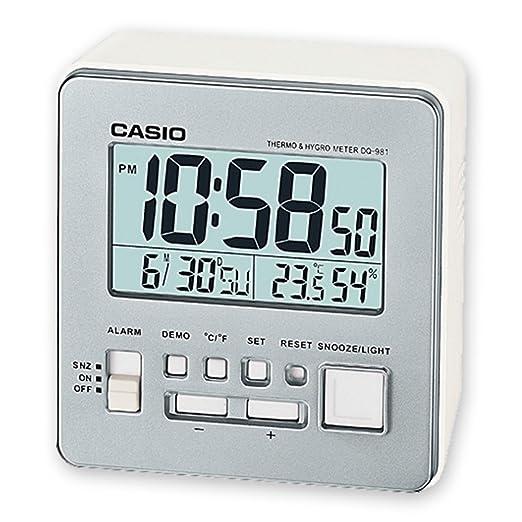 Casio Reloj Despertador Dq-981-8D