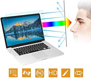 2PC Anti Blue Light Screen Protector Compatible with MacBook Pro 13 Inch Model A1706 A1708 A1989 A2159, Anti Glare Filter Film Eye Protection Blue Light Blocking Screen Protector