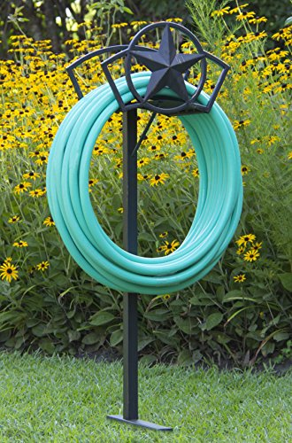 Liberty Garden Products 117 Star Garden Hose Stand, One Size, Bronze