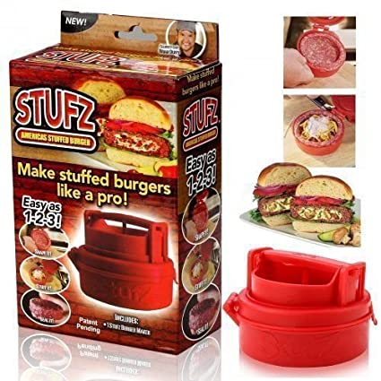 Molde manual para carne macinata hamburguesas Burger normal rellenos farciti Stufz