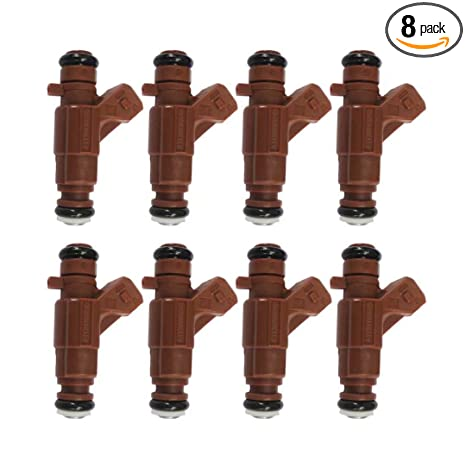 8Pcs Fuel Injectors for Mercedes G500 ML500 CLK500 5.0L 4.3L 0280156016
