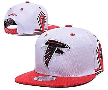 Tiempo de juego NFL Closer elástico blanco Atlanta Falcons gorra ...