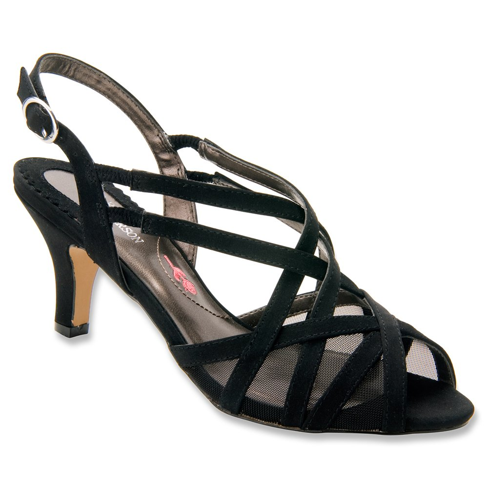 Ros Hommerson 6 Women's Lacey Sandals B00MU3O498 6 Hommerson 2A(N) US|Black Microtouch 58e3c7