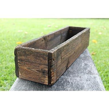 24  Rustic Planters Box (3.25-3.75 T - Short Version)