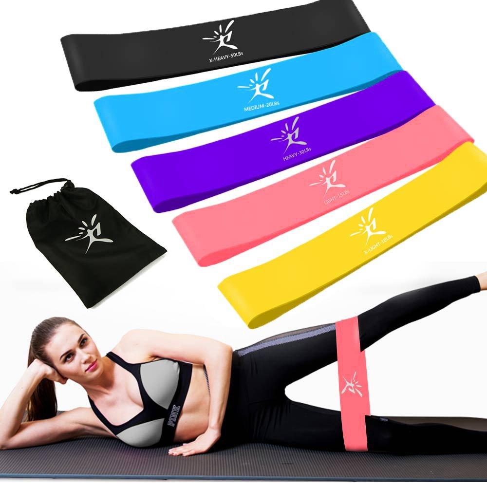 IVIM Thigh Toner & Butt, Leg, Arm Toner Thigh Trimmer Leg Exerciser Thigh Master Home Gym Equipment (Loop Band)