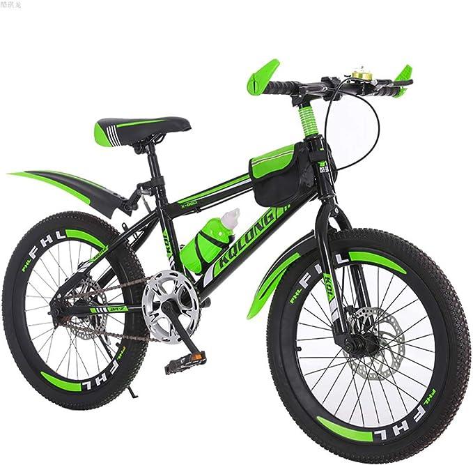 Brothers HouseYX Bicicleta de montaña para niños de 18 Pulgadas ...