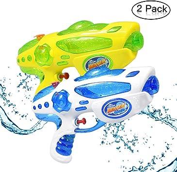 Yojoloin 2 Pack Water Blaster Super Pistola de Agua Soaker Squirt ...
