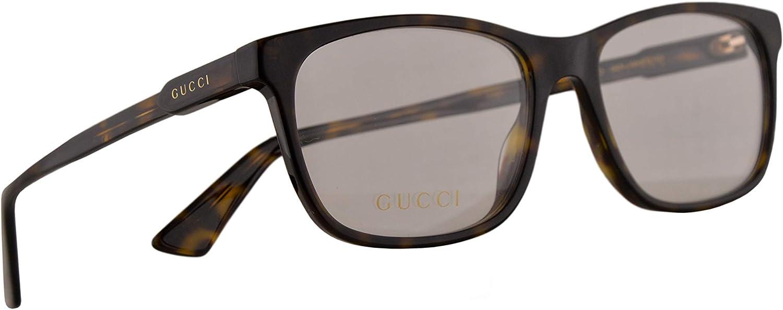 Gucci GG0490O Gafas 55-17-150 Havana Con Lentes De Muestra 007 GG 0490O: Amazon.es: Ropa y accesorios