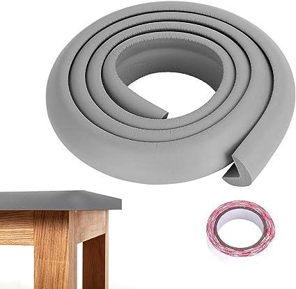 Striscia paracolpi in gomma per bambini, protezioni 2M bordo tavolo paraspigoli anticaduta protezione per angolari per mobili di diverse dimensioni,