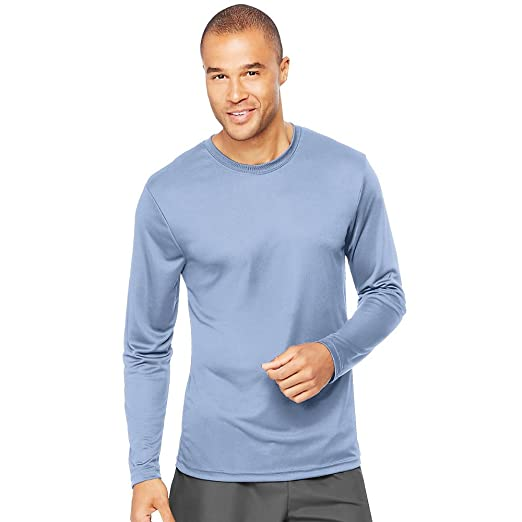 d7b62d16 Hanes Mens Cool Dri Long Sleeve Performance T-Shirt (482L) | Amazon.com