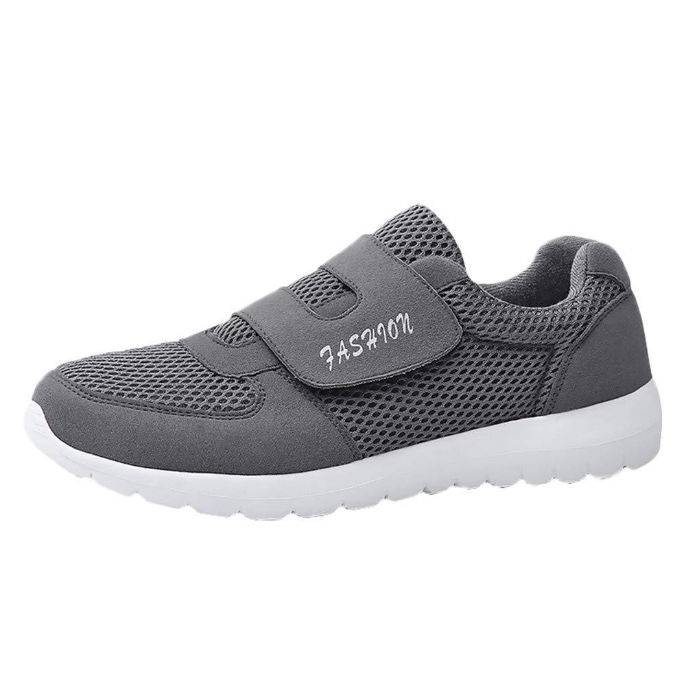 Chaussures de Marche pour Hommes Baskets de randonnée légères Chaussures de Sport Respirantes en Plein air LuckyGirls Sneaker de sécurité à Enfiler pour Les randonnées 39-45