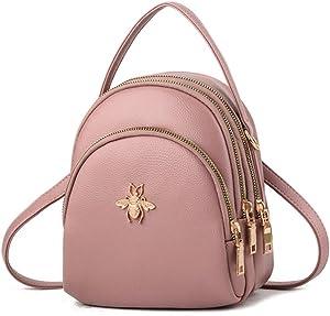 Free Fashion Mini Backpack Purse for Women...