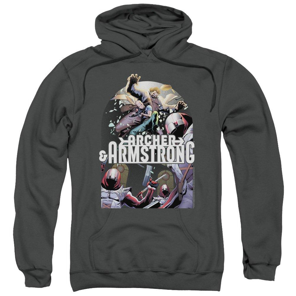 Archer & Armstrong - Herren-Dropping In Kapuzenpulli