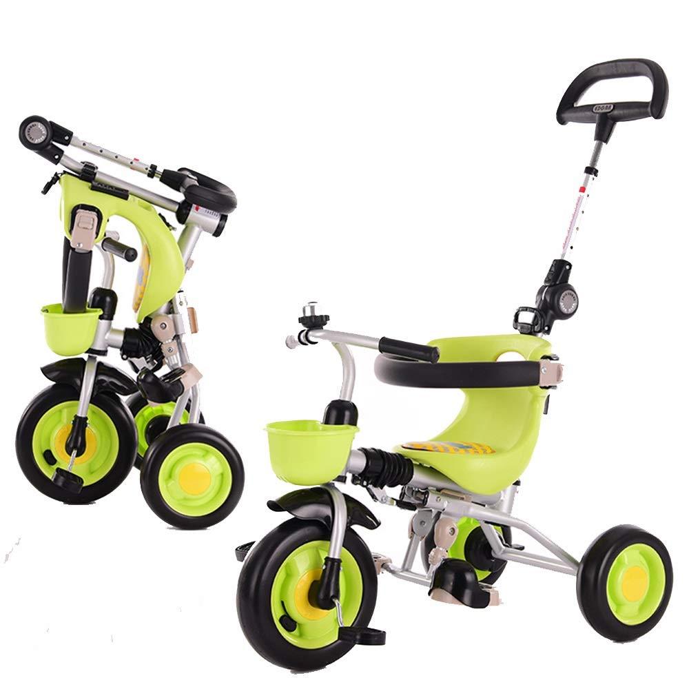 【★大感謝セール】 Axdwfd 子ども用自転車 子ども用自転車 B07Q15W3TV キッズ三輪車26年お誕生日おめでとうございますプレゼントベビー三輪車(プッシュハンドル式)(積載重量40kg) Axdwfd 緑 B07Q15W3TV, 邑楽町:b4b184c7 --- senas.4x4.lt