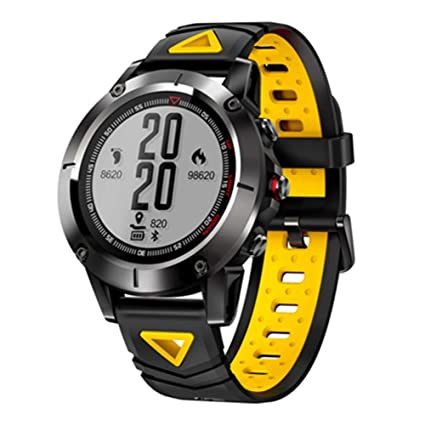 KDSFJIKUYB Smartwatch 2018 GPS Smart Watch Hombres Deporte IP68 ...