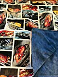 Weighted blanket child,boy, cars, toddler, 3 lbs, ready to ship, washable blanket