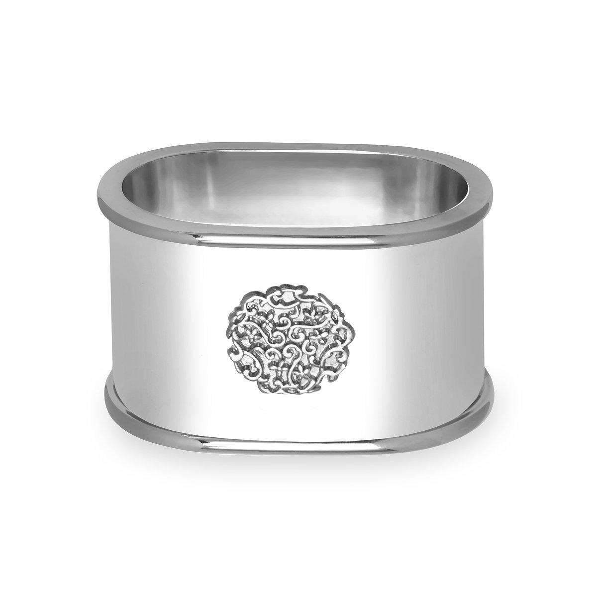 Cachet by Sferra - S/4 Napkin Ring (Silver)