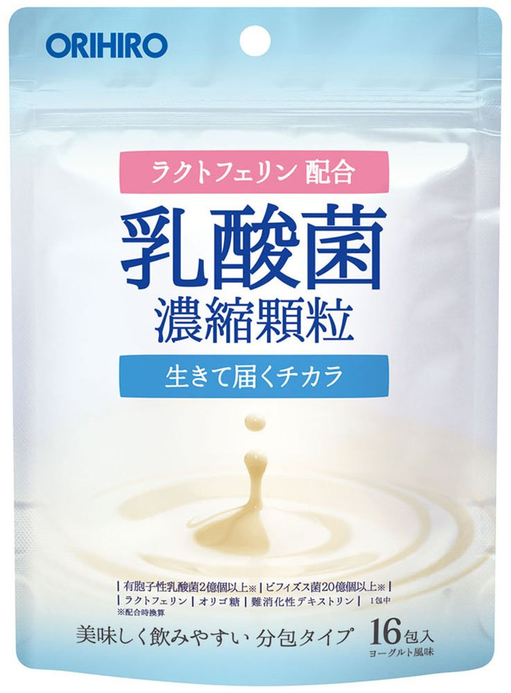 オリヒロ 乳酸菌濃縮顆粒 (ラクトフェリン配合) 1.0g×16包