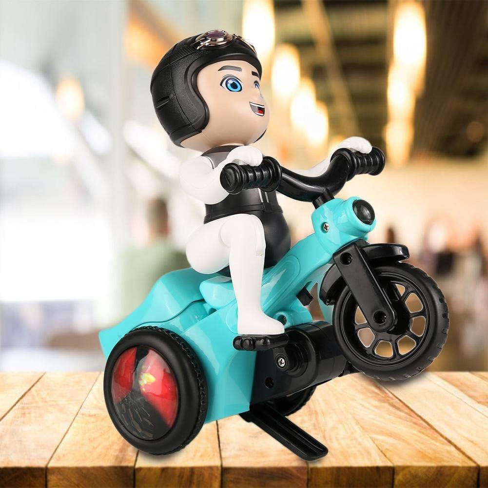 Bicaquu Jouet /électrique de Tricycle de Cascade de Jouets denfants avec des Effets de lumi/ère de Musique Enfants pour Le Cadeau