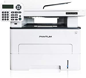 Pantum M7202FDW All-in-One Laser Printer with Copier Scanner Fax, High Print and Copy Speed, Auto-Duplex Printing, Wireless & Ethernet Networking & USB 2.0