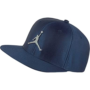 ce9f2fb4dab232 Jordan Cap - Jumpman Elephant Print Ingot Blue Silver Size  Adjustable   Amazon.co.uk  Clothing