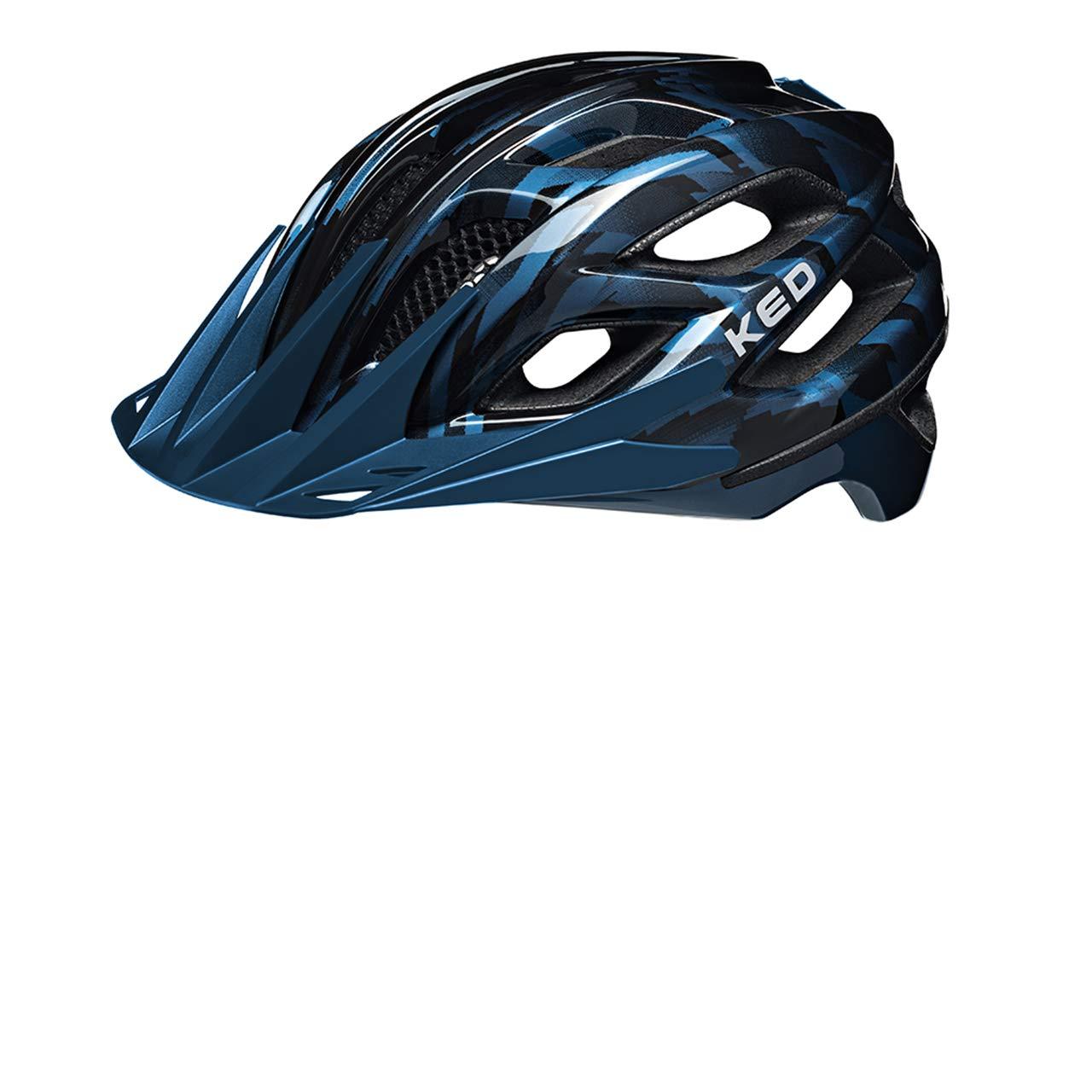 KED Companion Helmet schwarz Blau 2019 Fahrradhelm
