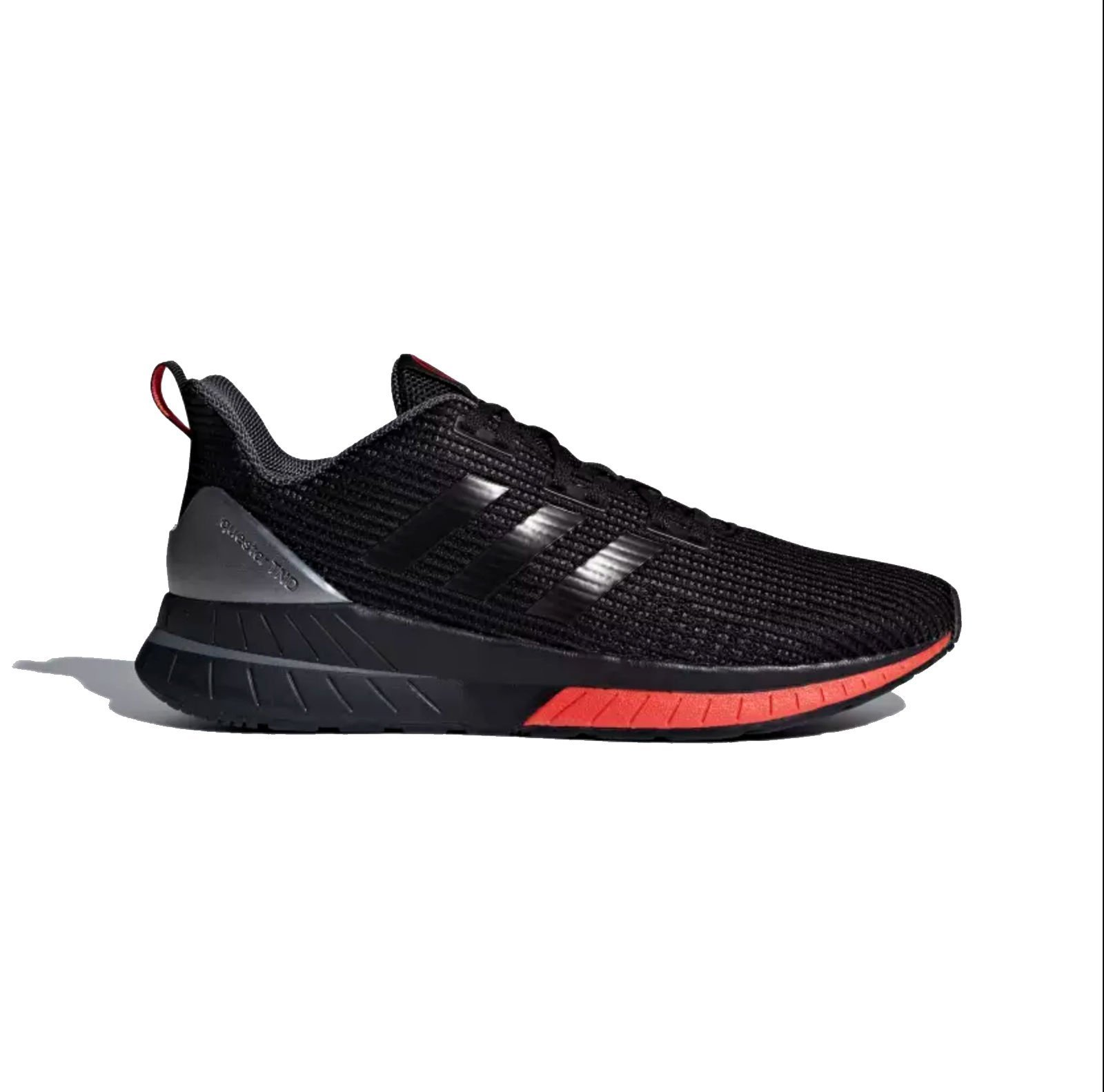 adidas Men's Questar Tnd, Core Black/Core Black/Core Red, 9 Medium US