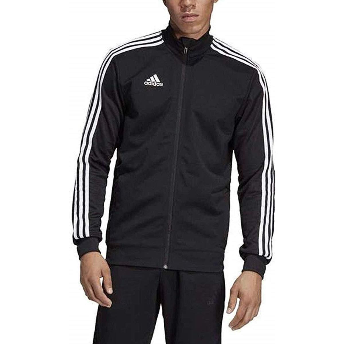 adidas Men's Tiro 19 Track Suit (S Jacket/L Pants, Grey/White) by adidas