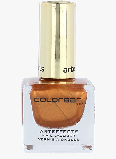 Buy Colorbar Art Effects Nail Lacquer, Brick Gold-009, 12ml