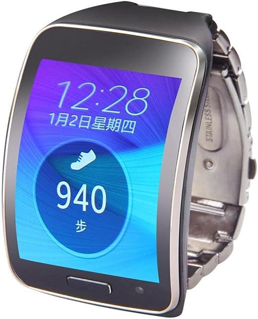 Ouneed For Samsung Gear S SM-R750 Metal del Acero Inoxidable de ...